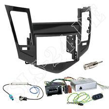 CHEVROLET Cruze Doppel 2-DIN KFZ Blende Alpine Radio Lenkrad Adapter Komplettset