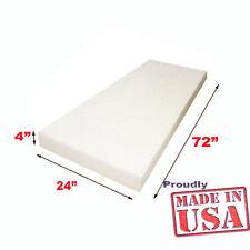 "Mybecca High Density Foam Upholstery Foam Cushion size 4"" X 24"" X 72"""
