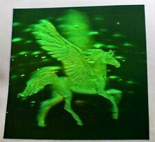 "VTG Polaroid 3-D 90's Holograms Prototypes - Pegasus - Horse 4 X 4"""