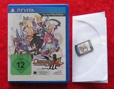 Disgaea 4: A Promise Revisited, Sony PSVita Spiel PlayStation Vita, Neu