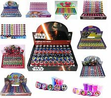 60 Pcs Party Favors Stampers Cars Frozen Minnie Mickey Elmo Star Wars Princess.