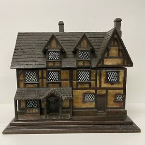 Rare Victorian Stationary Cabinet Box Chest House Model Victorian Desk Furniture