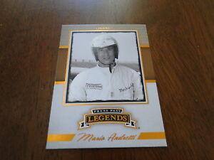 2013 Press Pass Legends Mario Andretti Card #4