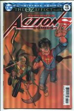 ACTION COMICS #990 - NICK BRADSHAW LENTICULAR COVER - OZ EFFECT PART 4 - DC/2017