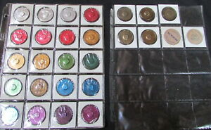 27 Vintage ALCOHOLICS ANONYMOUS AA Aluminum  & Wood TOKENS CHIP RARE