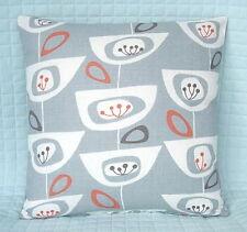 "Shabby Chic Retro Style  Cushion Cover/16""x16""/John Lewis SEEDHEADS Fabric,Slate"