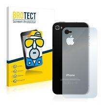 2x Film Protection Mat pour Apple iPhone 4S (Arrière) Protecteur Ecran