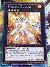 Evolzar Dolkka ct09-en001 Secret Rare Yu-Gi-Oh XYZ Carta Drago inglese Deck NM
