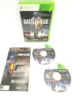 Microsoft XBOX 360 BATTLEFIELD 3 Complete 2 Disc Manual Case Game UNTESTED