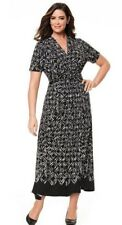 SARA MAXI DRESS (Size 24) BLACK & WHITE (New with Tags) $149