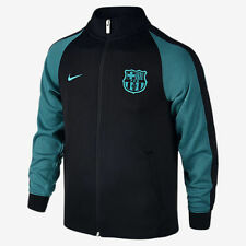 NIKE FC BARCELONA AUTHENTIC N98 KID'S YOUTH JACKET Black/Energy