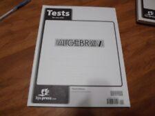Bob Jones Algebra 2 Third Edition Test Packet NEW