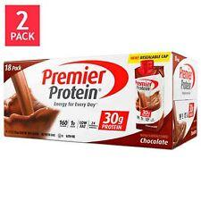 Premier Nutrition 36 pack Ready Drink 30 gram High Protein Shake Chocolate 11 oz