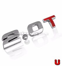 1 - VW Volkswagen Jetta Passat GTI Golf GLI Chrome Emblem Badge 19mm 2.0T RED