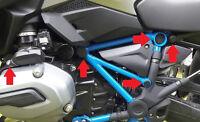 """Für BMW R 1200 GS LC """"RALLYE"""" Edition : Rahmenkappenset / Abdeckungen 9 teilig."""