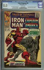 Tales Of Suspense #95 CGC 8.0 Iron Man Captain America