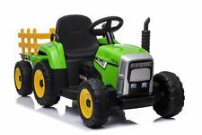 Kinderfahrzeug Traktor Farmer mit Anhänger Elektrotraktor Kinderauto
