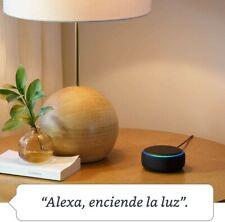 Echo Dot (3.ª generación) Altavoz inteligente con Alexa, tela de color antracita