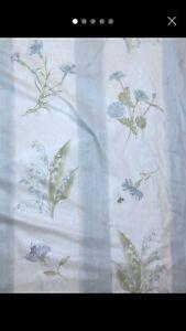 Laura Ashley Botanics Floral Blackout Thermal Curtains