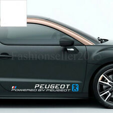 2 Sides Decal Vinyl Car Stickers for PEUGEOT Auto Waist Line Exterior Decoration