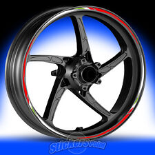 Adesivi moto YAMAHA XMAX-strisce RACING5 cerchi ruote stickers