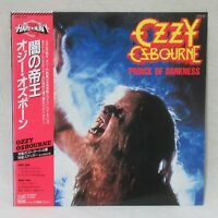 "OZZY OSBOURNE ""PRINCE OF DARKNESS"" 20AP-2887 LP Vinyl Pressing Japan OBI"