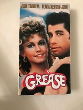 Grease (VHS, 1998) John Travolta Olivia Newton-John