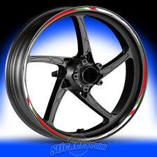 Adesivi moto DUCATI 848 EVO - strisce RACING5 cerchi ruote stickers