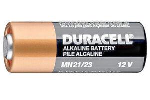 1 batteria MN21 12V alkalina DURACELL A23 K23A LRV08 MN21/23 x telecomando auto