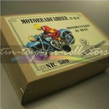 SUPERSCHÖNES MAKELLOSES FEIN BLECH MOTORRAD TCO/TippCo/WAGNER BLAU + BOX
