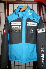 Swiss Ski Team Olympic ODLO winter Jacket S  Swisscom Audi Raiffeisen Alpiq ALY