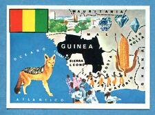 LA TERRA - Panini 1966 - Figurina-Sticker n. 287 - GUINEA -Rec
