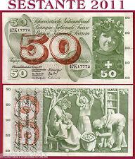 # SWITZERLAND / SVIZZERA - 50 FRANKEN 7.2. 1974 sign. 43  P 48n  - BB+ / VF+