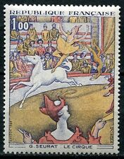 STAMP / TIMBRE FRANCE NEUF luxe N° 1588A ** TABLEAU ART / LE CIRQUE SEURAT