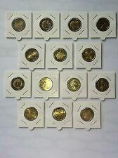 LOT 14 PIECES 2011 2 EURO COMMEMORATIVE NEUVES EMISES CETTE ANNEE AVEC MONACO