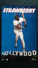 vintage MLB LA Dodgers Darryl Strawberry baseball nike starline costacos poster