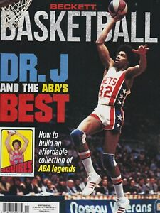 Beckett Basketball Price Guide Magazine Julius Erving November 2021 cover Dr. J