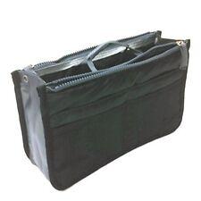 Tapp C. Multi-pocket Nylon Purse Insert Organizer - Black