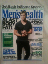MENS MAGAZINE  MENS HEALTH JANUARY / FEBRUARY 2016 GETTING BACK IN SHAPE SPECIAL