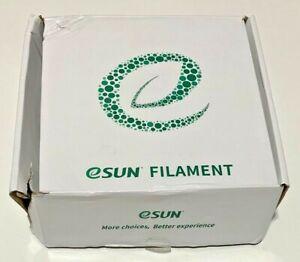 eSUN 1.75mm Cool White PLA+ 3D Printer Filament 1KG Spool Damaged Box