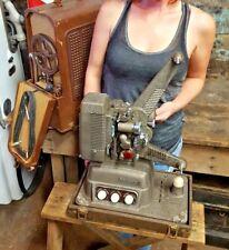 Revere S-16 Sound 16mm Movie Projector Vintage Built in Speaker amp in Case