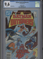 BATMAN AND THE OUTSIDERS #6 NM 9.6 CGC HIGHEST 1 OF 1 CANADIAN PRICE VARIANT