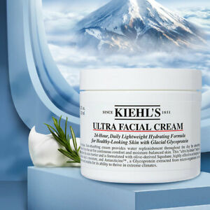 Kiehl's ULTRA FACIAL CREAM 4.2 oz / 125 ml - Hydrating Moisturizer - NEW Sealed