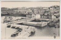 France postcard - Cherbourg - Le Pont Tournant - LL No. 174 (A154)