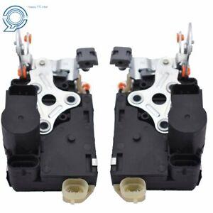 Pair of Power Door Lock Actuator w/ Latch for CHEVROLET GMC Front Left&Right