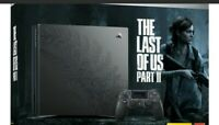 PLAYSTATION 4 PRO 1TB LIMITED EDITION THE LAST OF US PART II BUNDLE