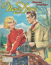 ▬►NOUS DEUX 705 (1960) COVER AIMABLE RENCONTRE