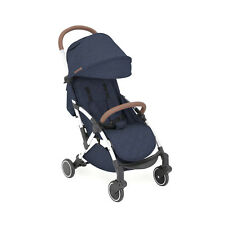 Ickle Bubba Globe Stroller in Denim Blue on Silver – Pushchair Pram Buggy