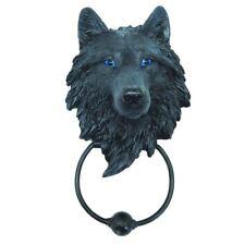 Wild Wolf Door Knocker Gothic Decor Fantasy Art