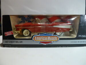 ERTL American Muscle 1957 Chevy Bel Air Convertible, Collector's Edition 1:18, N